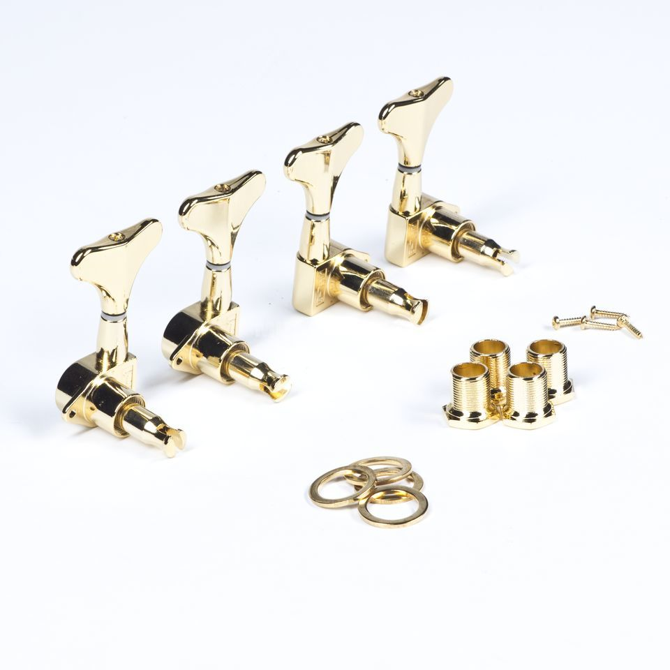 WSC Partsland JB15 Bass Machine Head, Gold, 2 links 2 rechts Produktbild