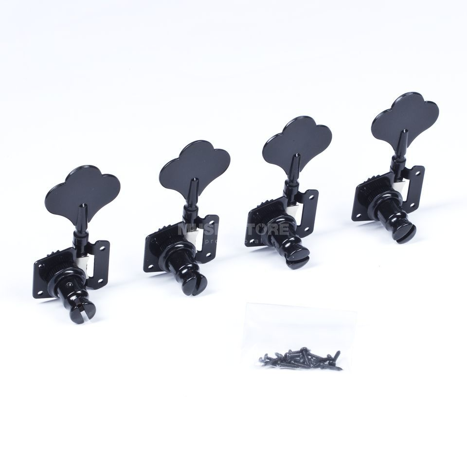 WSC Partsland JB20-BK-R4 Machine Head  Black 4 links, F-Style Produktbild