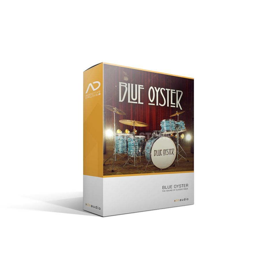 XLN Audio Addictive Drums 2 AD PAK Blue Oyster /Expansion AD2 Produktbillede