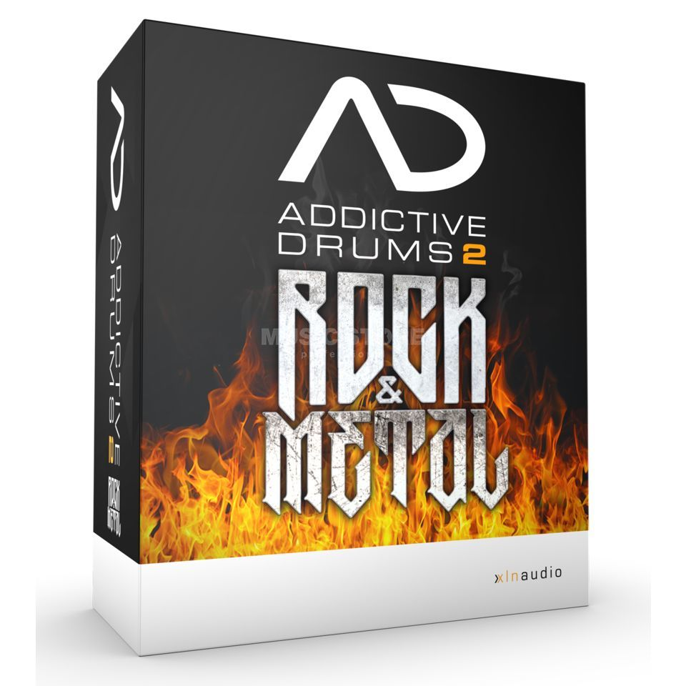 XLN Audio Addictive Drums 2 Rock & Metal Edition Produktbillede