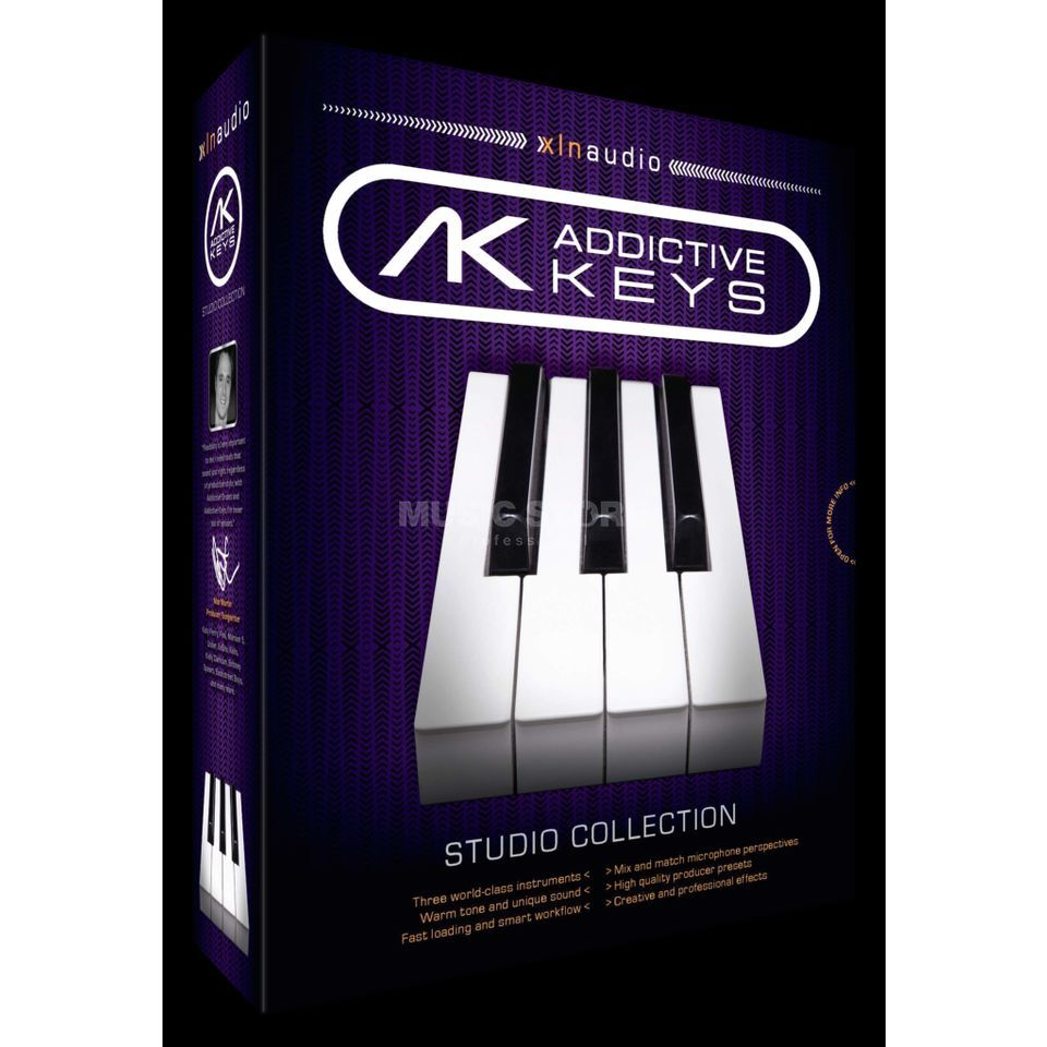 XLN Audio Addictive Keys Virtual Piano  Software Produktbillede