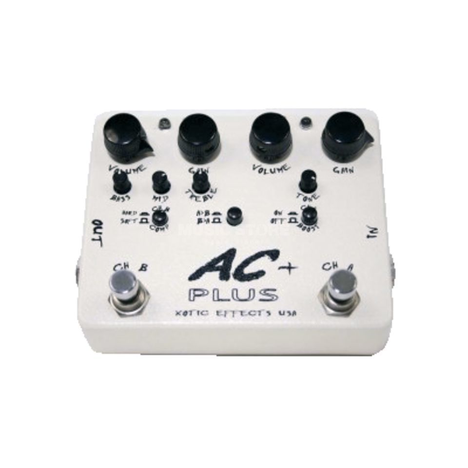 Xotic AC Plus Booster Overdrive Produktbild