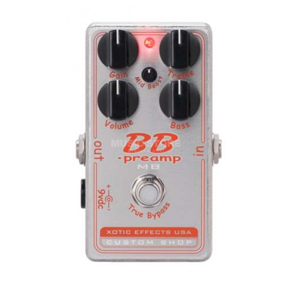 Xotic BB Preamp-MB Custom Shop Produktbillede