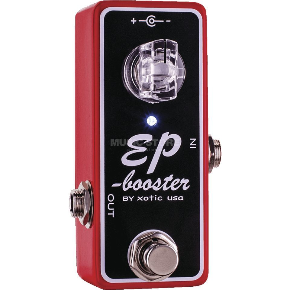 Xotic EP Booster Red Limited Edition Produktbild