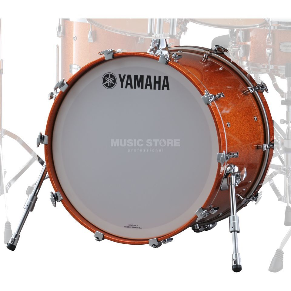 "Yamaha Absolute Maple Hybrid BassDrum 20""x16"", Orange Sparkle #ORS Produktbillede"