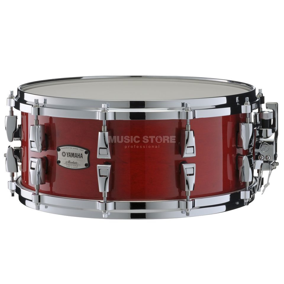 "Yamaha Absolute Maple Hybrid Snare 14""x6, Red Autumn #RAU Produktbillede"