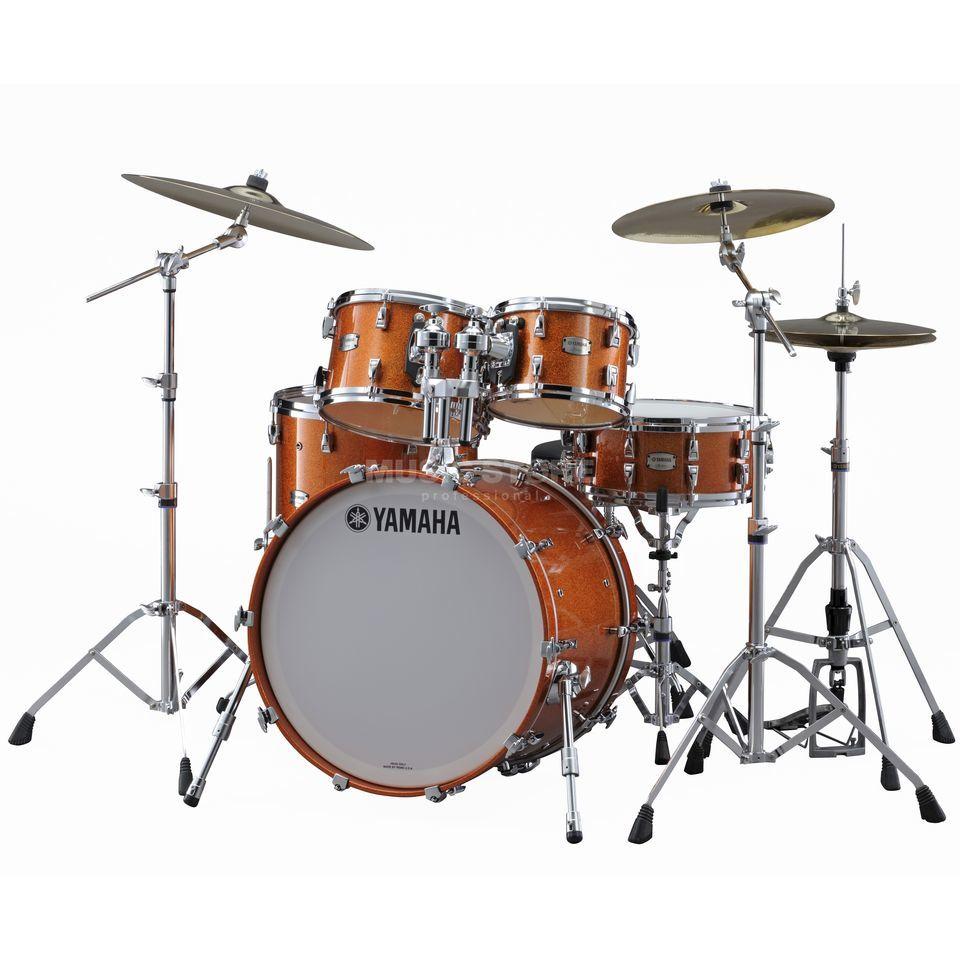 Yamaha Absolute Maple Hybrid Studio, Orange Sparkle #ORS Produktbild