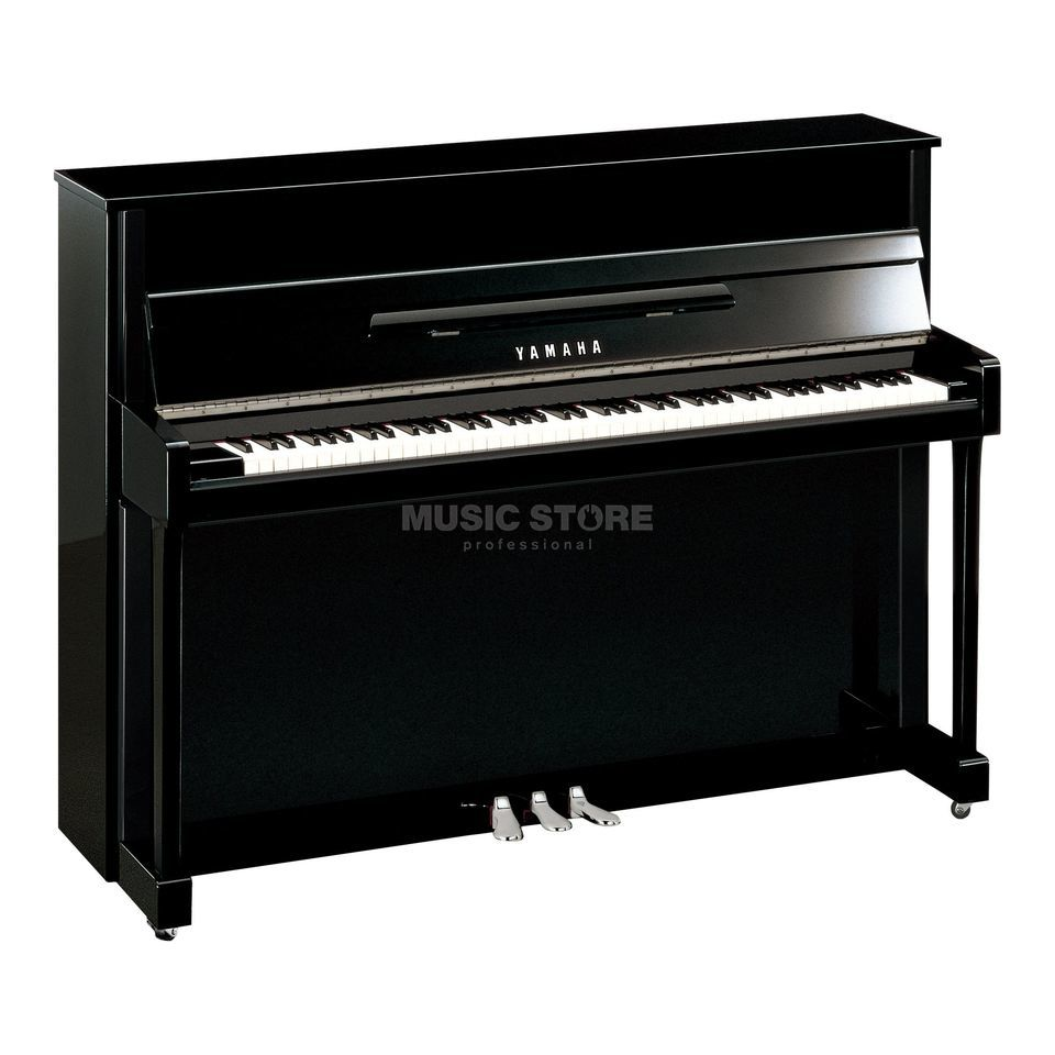 Yamaha B2E PEC   Piano  113cm Black polished / Chrome Produktbillede
