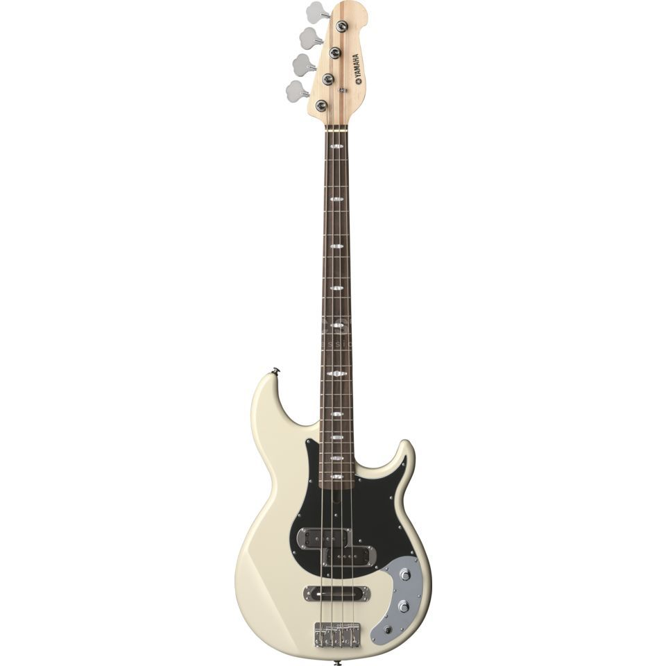 Yamaha BB424X Bass Guitar, Vintage Wh ite   Product Image
