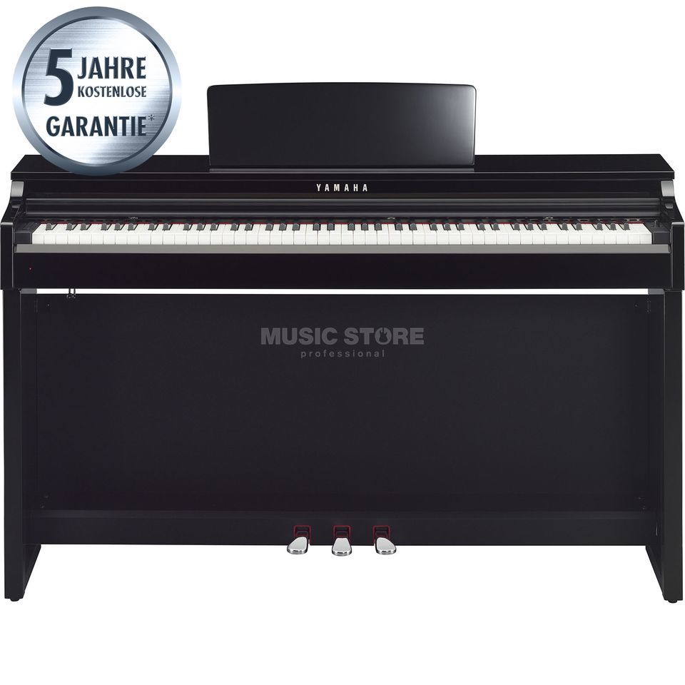 Yamaha Clavinova CLP-525 PE Digital Piano Polished Ebony Produktbillede