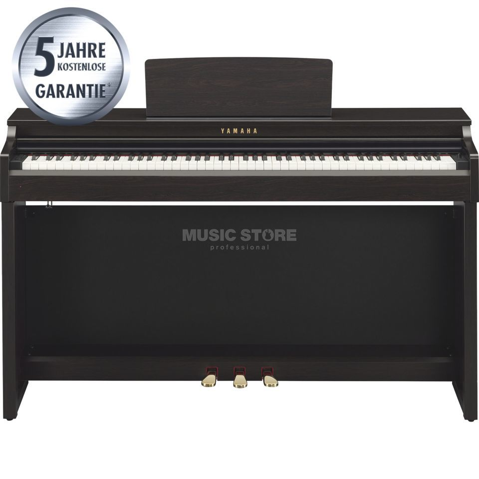 yamaha clavinova clp 525 r digital piano rosewood. Black Bedroom Furniture Sets. Home Design Ideas