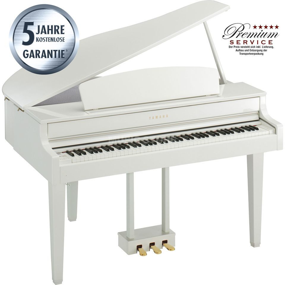 Yamaha Clavinova CLP-565 GP WH Digital Grand Piano White Produktbild