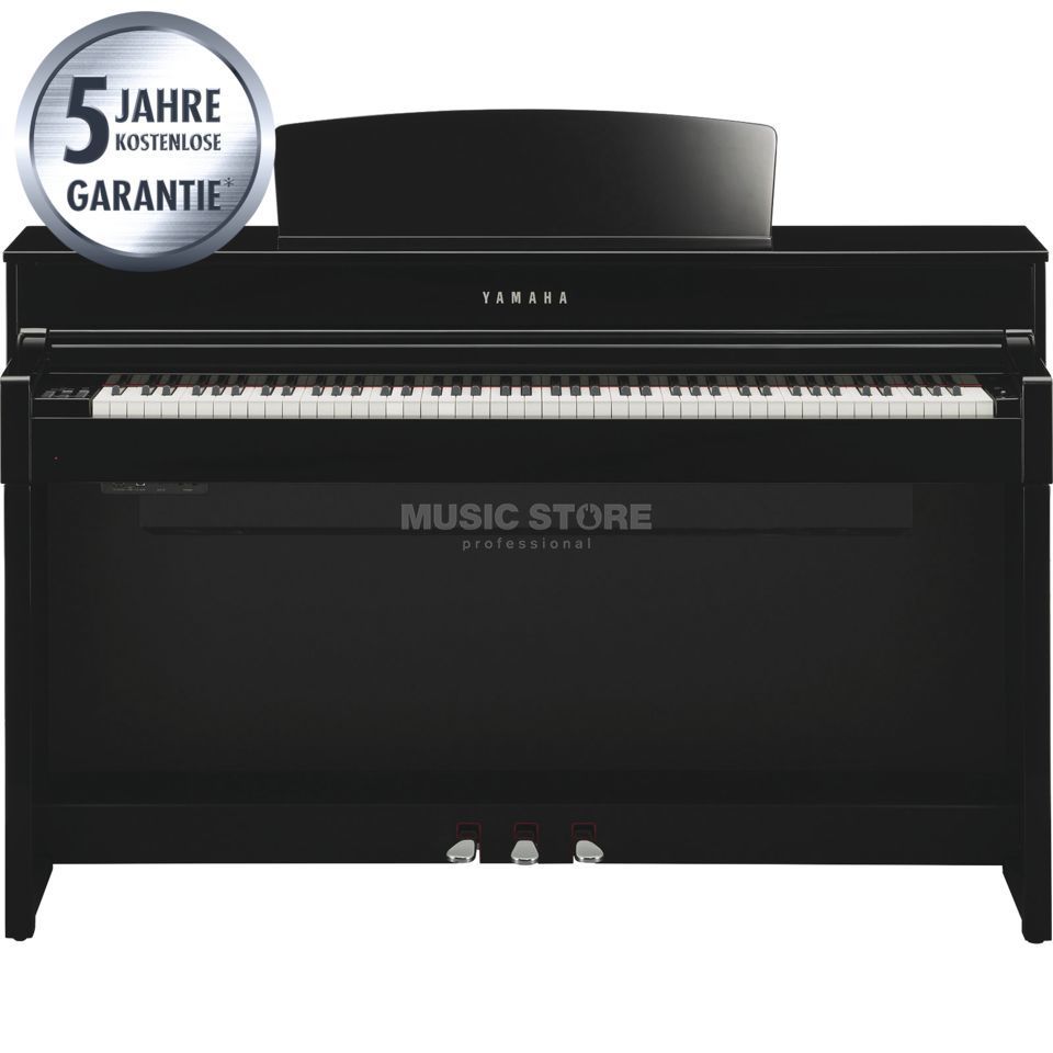 Yamaha Clavinova CLP-575 PE digitaal Piano Polished Ebony Productafbeelding