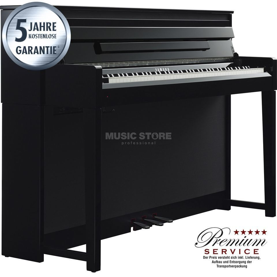 Yamaha Clavinova CLP-585 PE Digital Piano Polished Ebony Produktbillede