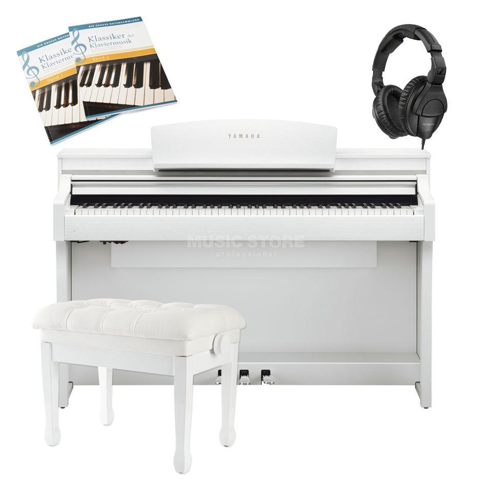 yamaha clp 635 b complete set. Black Bedroom Furniture Sets. Home Design Ideas