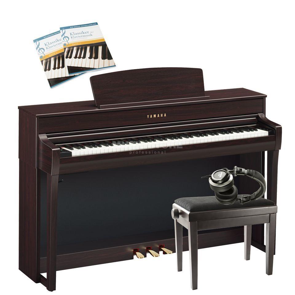 yamaha clp 675 r complete set. Black Bedroom Furniture Sets. Home Design Ideas