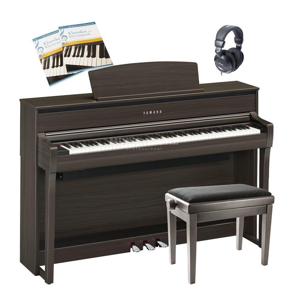yamaha clp 685 pe complete set. Black Bedroom Furniture Sets. Home Design Ideas
