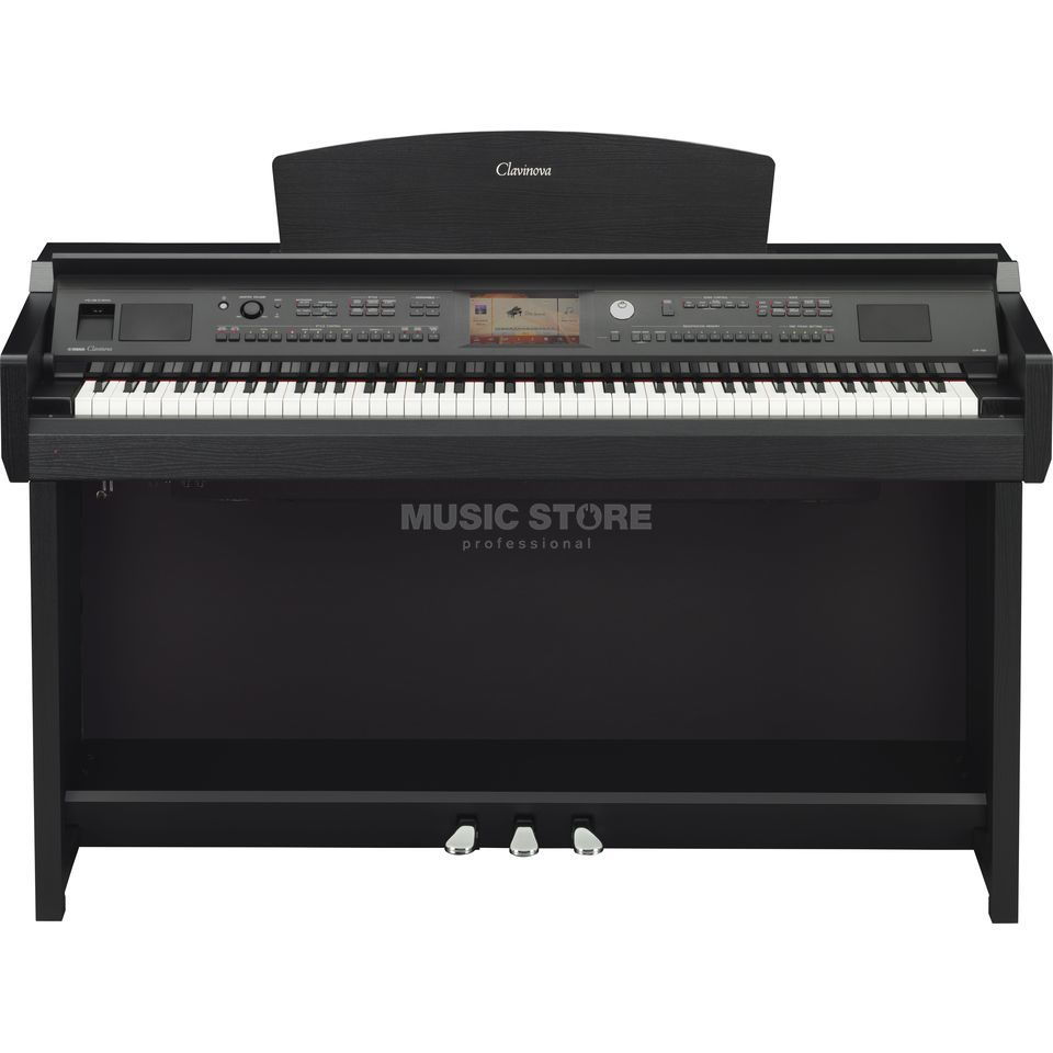Yamaha CVP 705-B Digital Piano Satin Black Produktbild