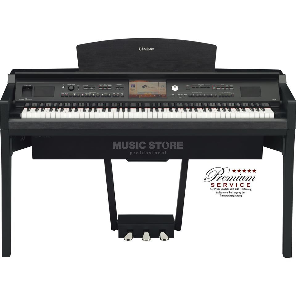 Yamaha CVP 709-B Digital Piano Satin Black Produktbild