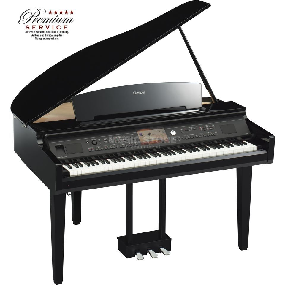 Yamaha CVP-709 GP Black Polished Produktbillede
