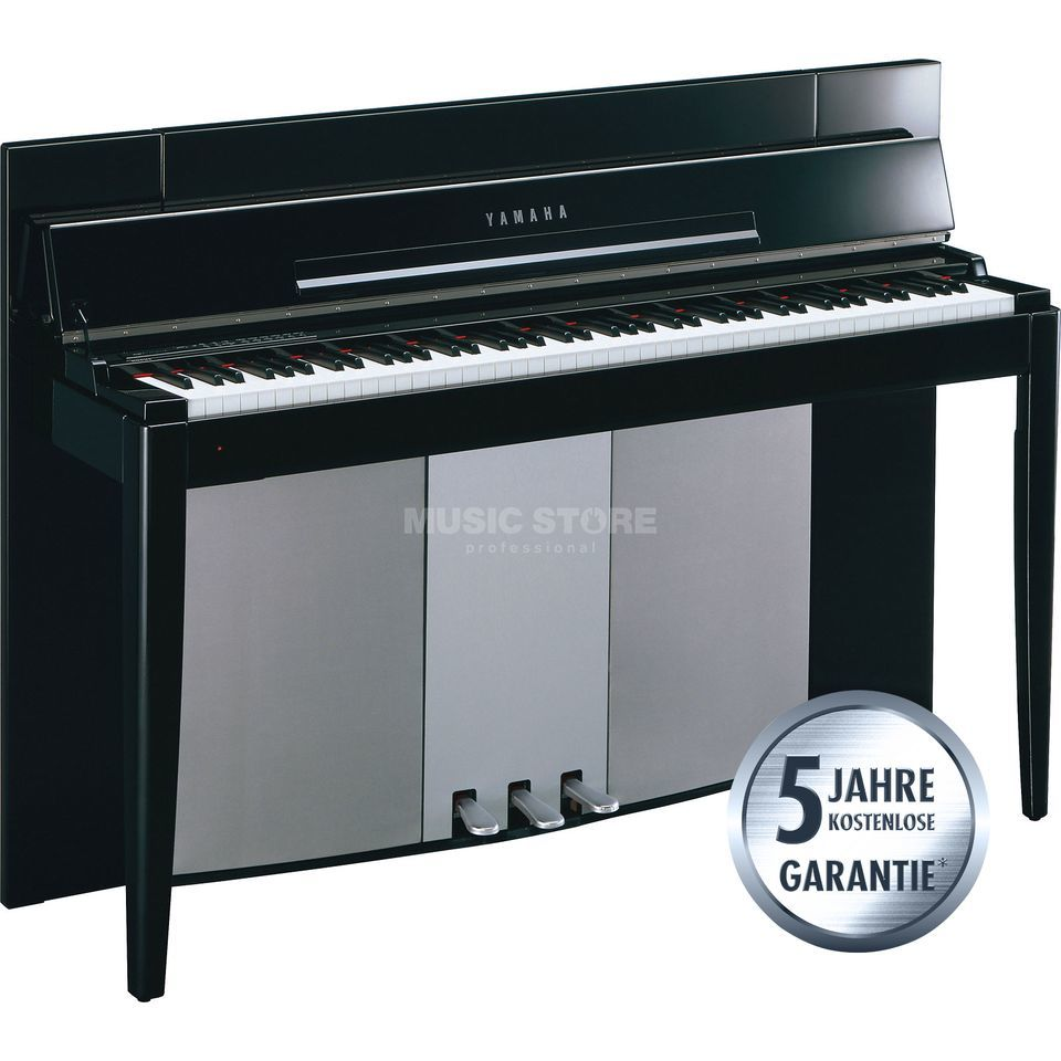 Yamaha Digital Piano Polished Ebony  Produktbillede