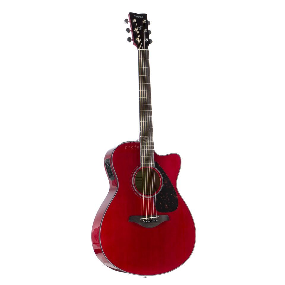 Yamaha FSX 800 C RR Ruby Red Productafbeelding
