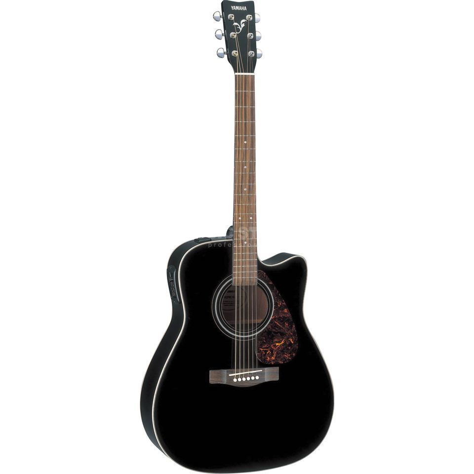 yamaha fx370c electro acoustic guitar black. Black Bedroom Furniture Sets. Home Design Ideas