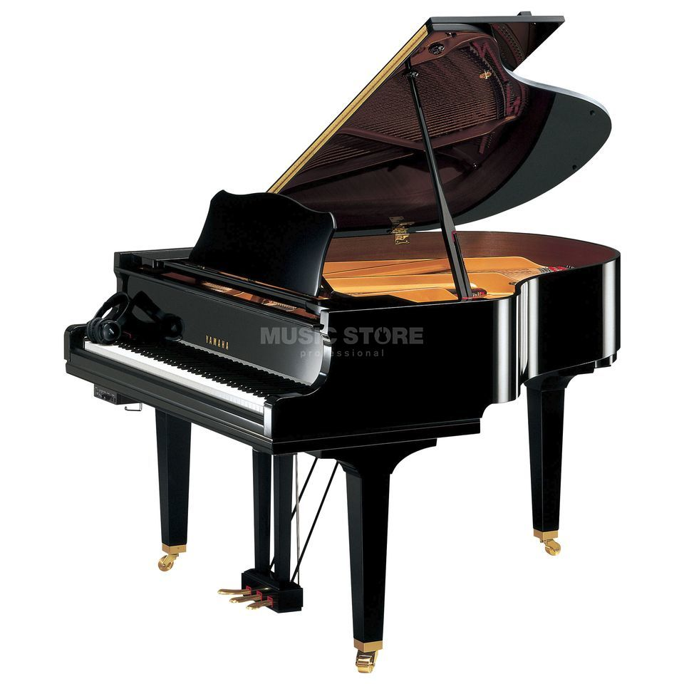 Yamaha GC 1 SG PE Silent Grand 161cm, Black polished Produktbillede