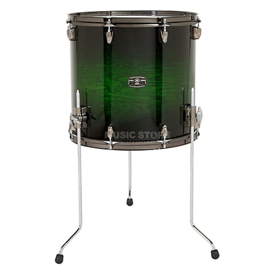 "Yamaha Live Custom FloorTom 16""x15"" Emerald Shadow Sunburst #EWS Product Image"