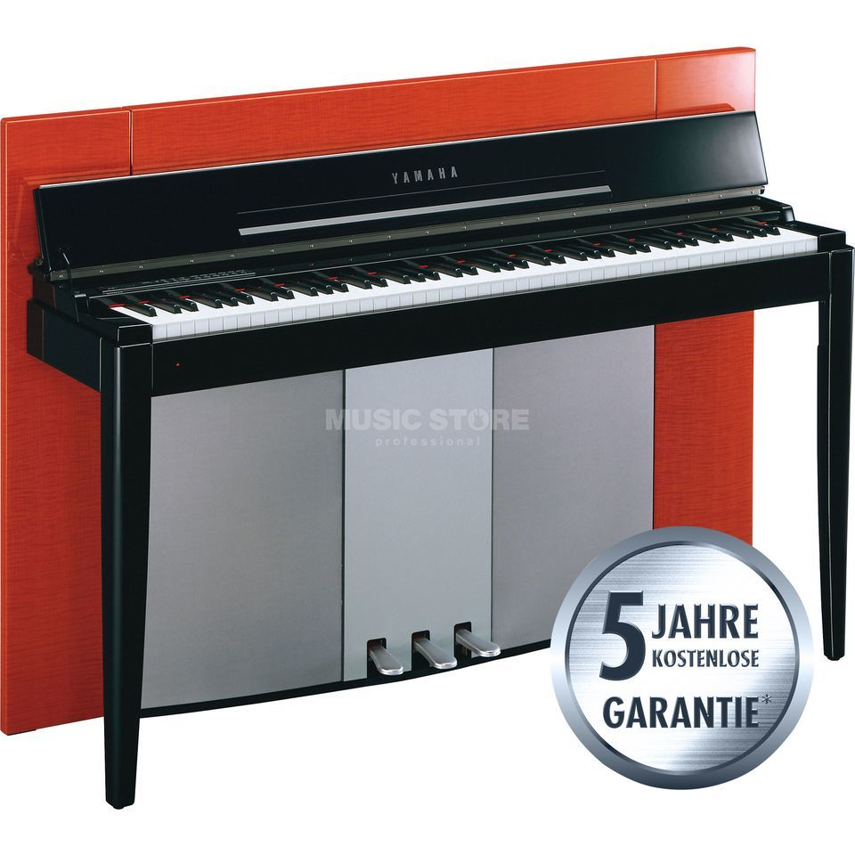 Yamaha Modus F02 PO Digital Piano Polished Orange Produktbild