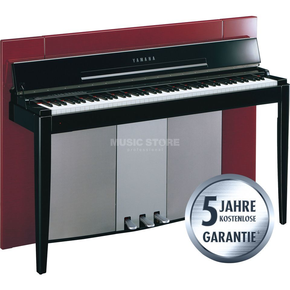Yamaha Modus F02 PR Digital Piano Polished Red Immagine prodotto