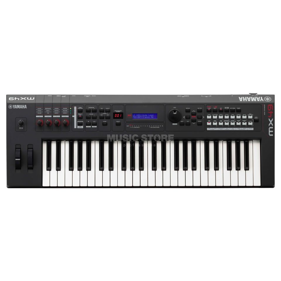 Yamaha MX 49 Performance Synthesizer Demogerät mit voller Garantie Produktbild