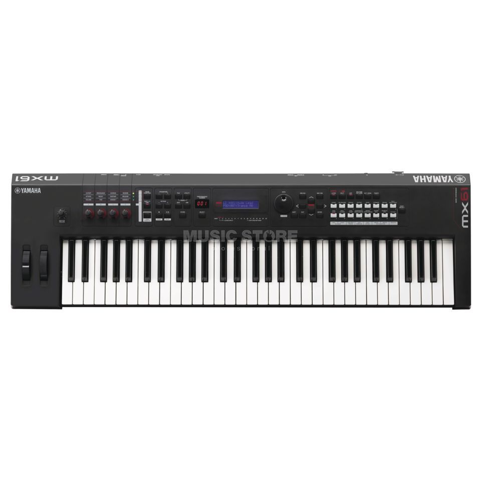 Yamaha MX 61 Demogerät Performance Synthesizer Produktbild