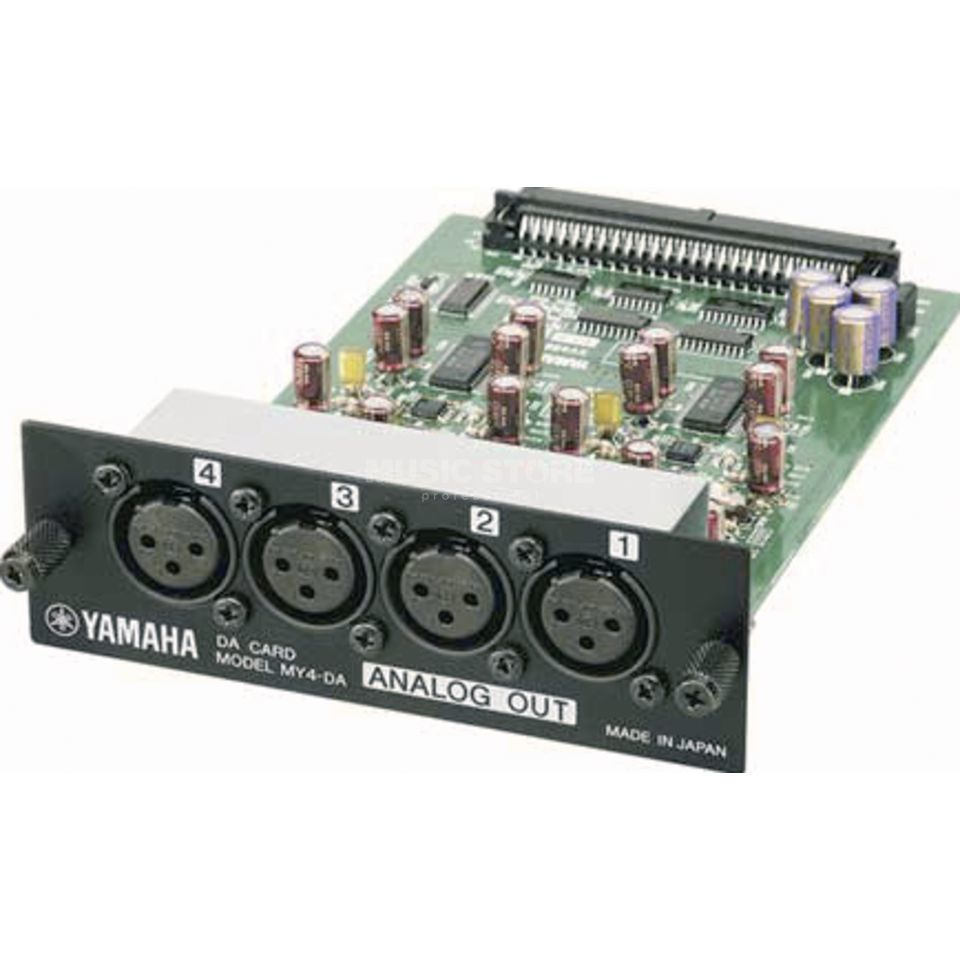 Yamaha MY4-DA 4-Channel Analog Out Card Produktbild