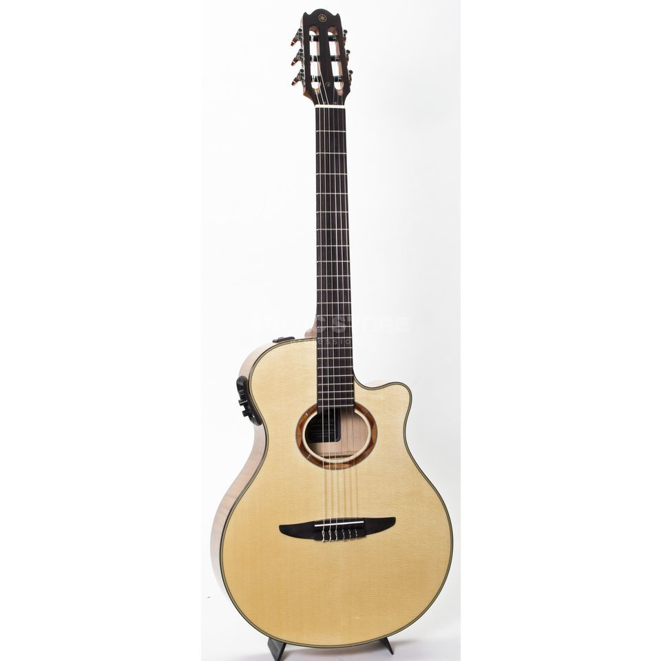 Yamaha NTX900 FM Classical Electro Ac oustic Guitar, Natural   Produktbillede