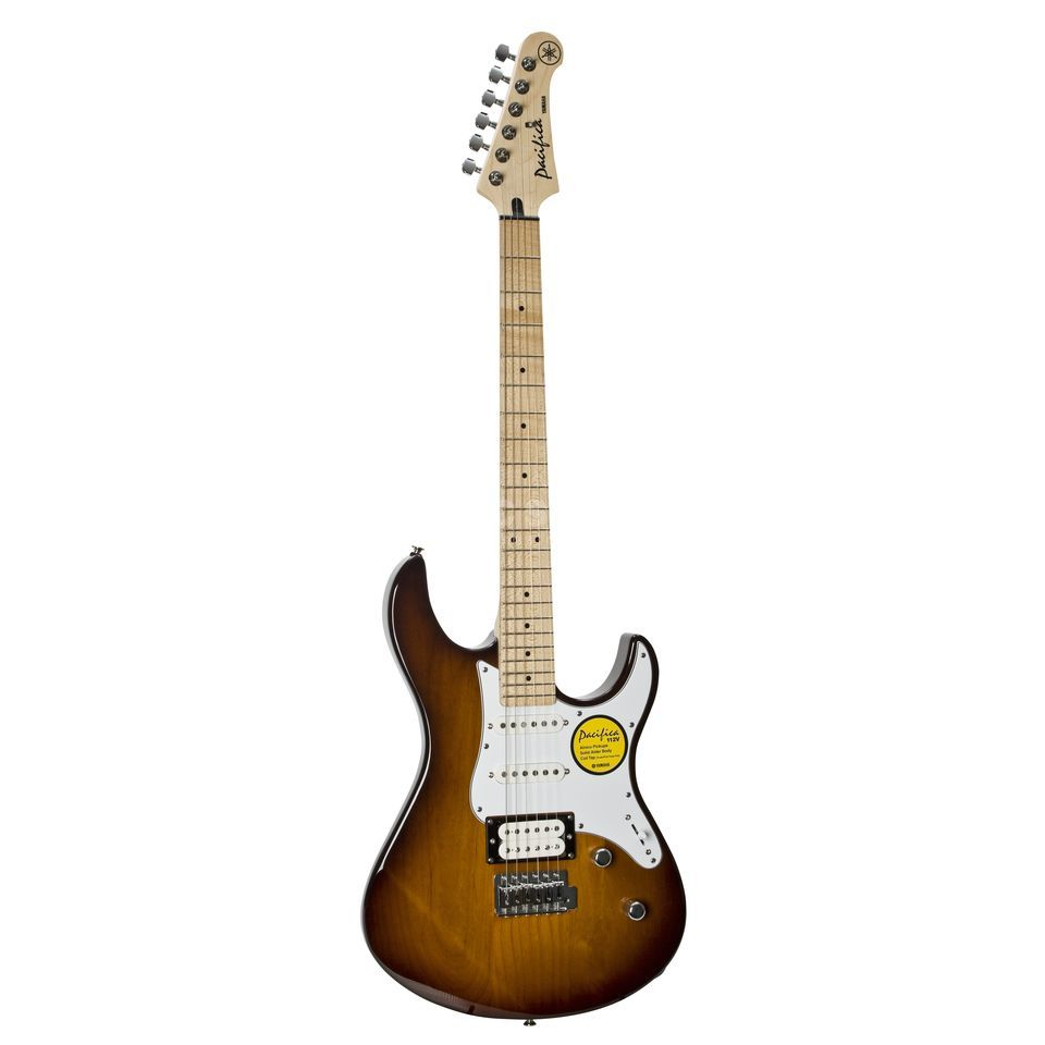 Yamaha Pacifica 112VM Electric Guitar , Tobacco Sunburst   Produktbillede