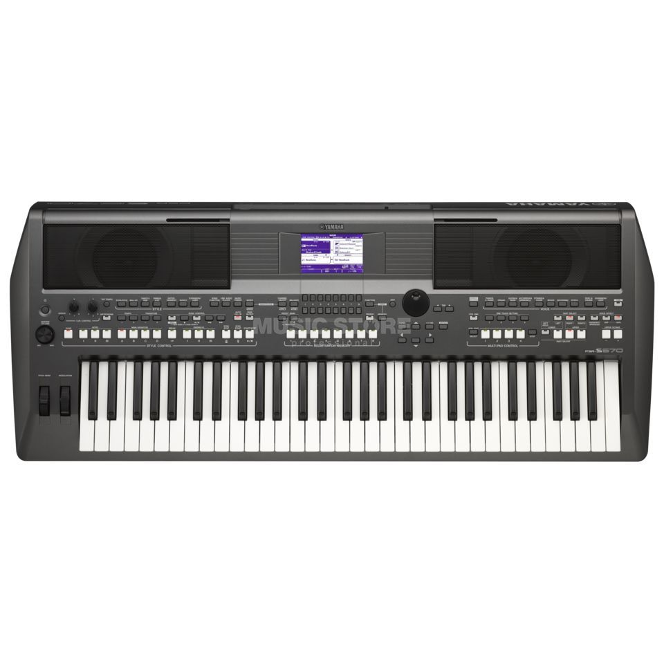 Yamaha PSR-S670 Entertainer Keyboard Produktbild
