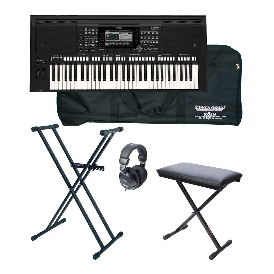 yamaha psr s775 deluxe set. Black Bedroom Furniture Sets. Home Design Ideas