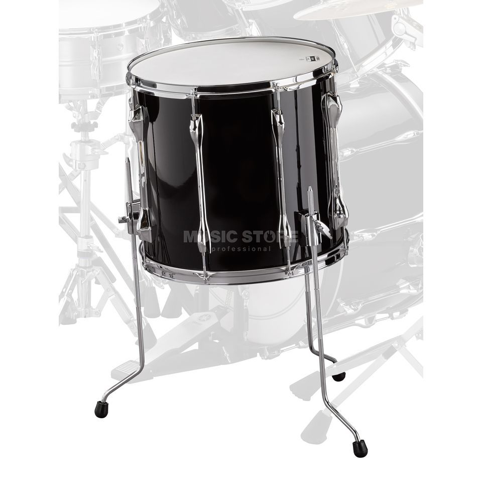 "Yamaha Recording Custom FloorTom 14""x13"", Solid Black Product Image"