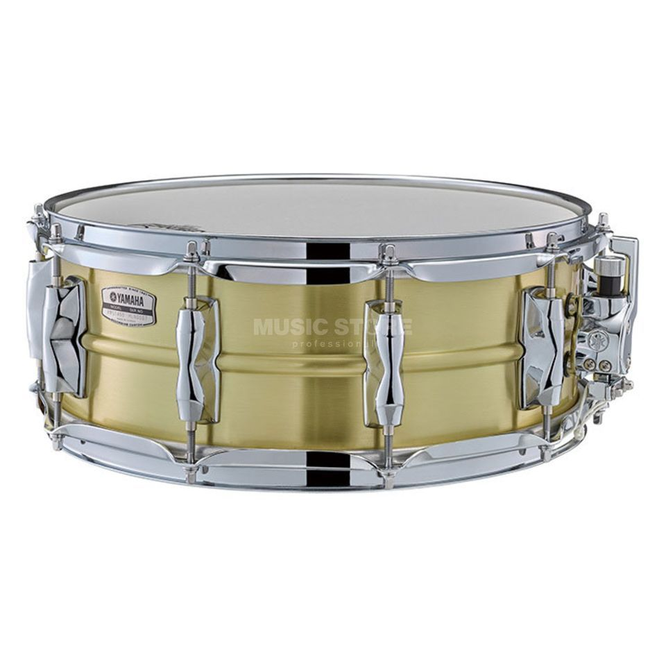 "Yamaha Recording Custom Snare 14"" x 5.5"" Brass Product Image"