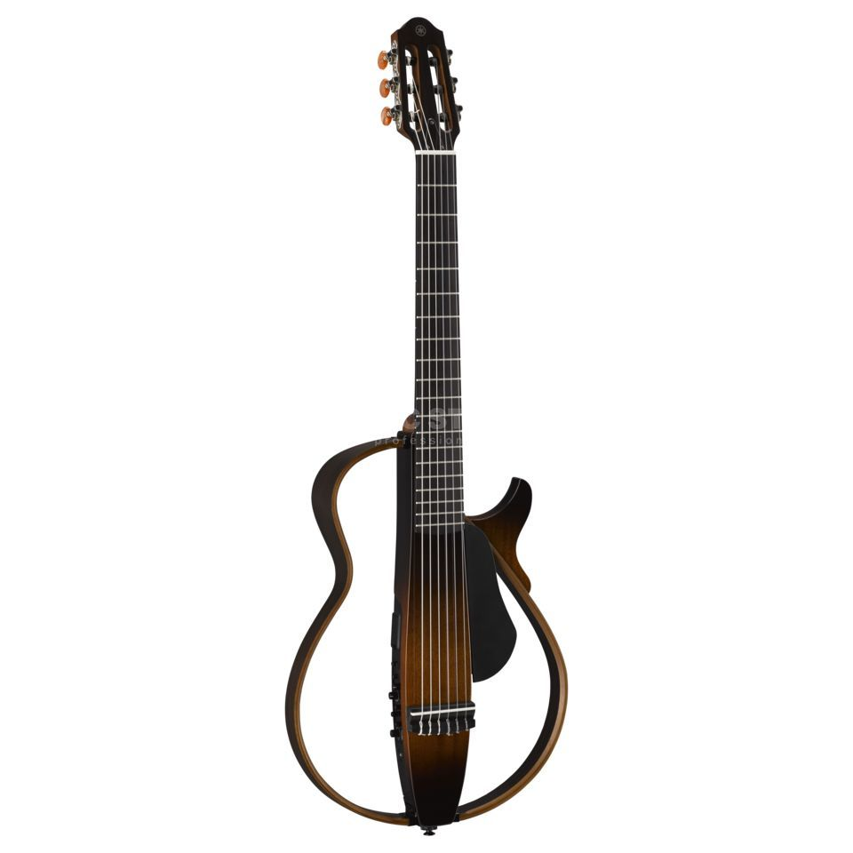 Yamaha Silent Guitar SLG 200 N Tobacco Brown Sunburst Nylon Strings Produktbild