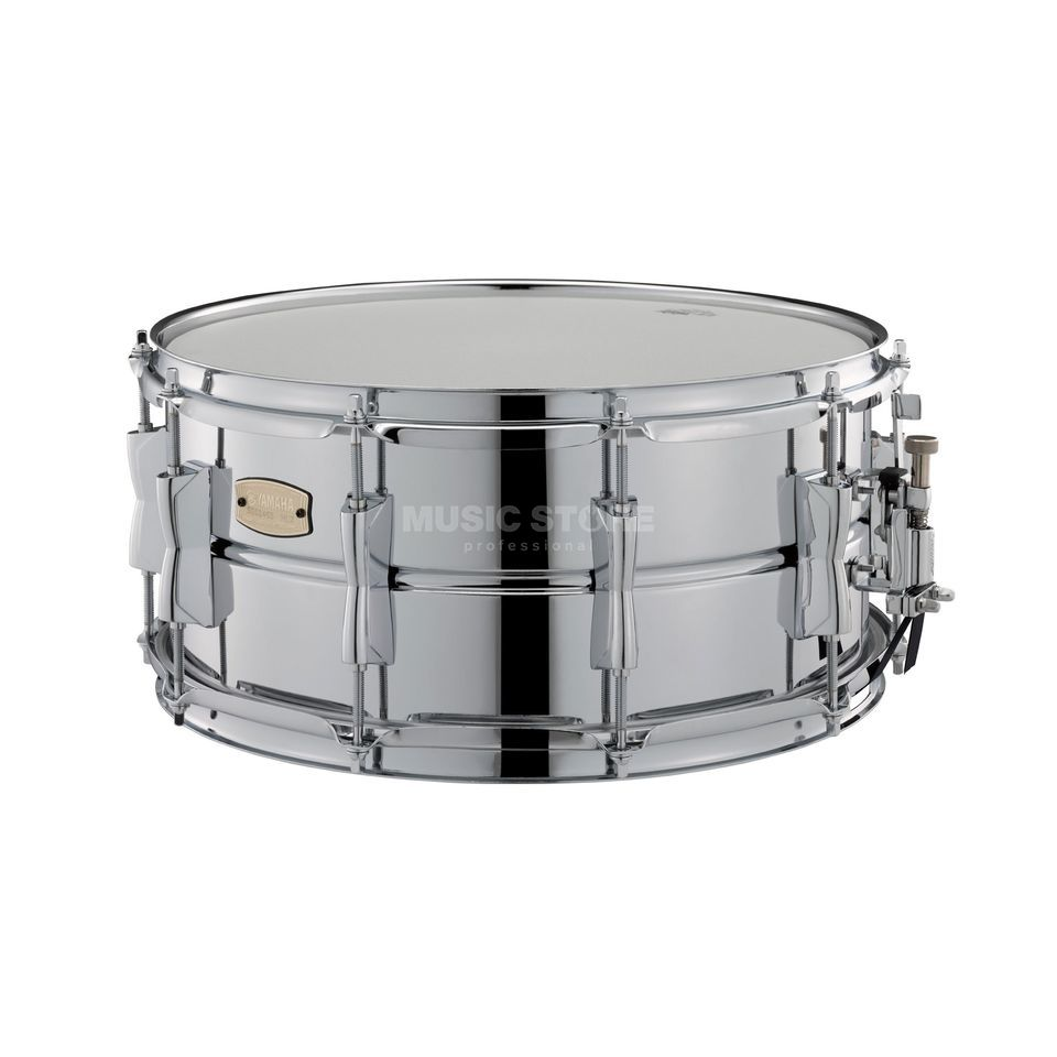 Yamaha sss1465 stage custom snare 14 x6 5 steel for Yamaha stage custom steel snare drum 14x6 5