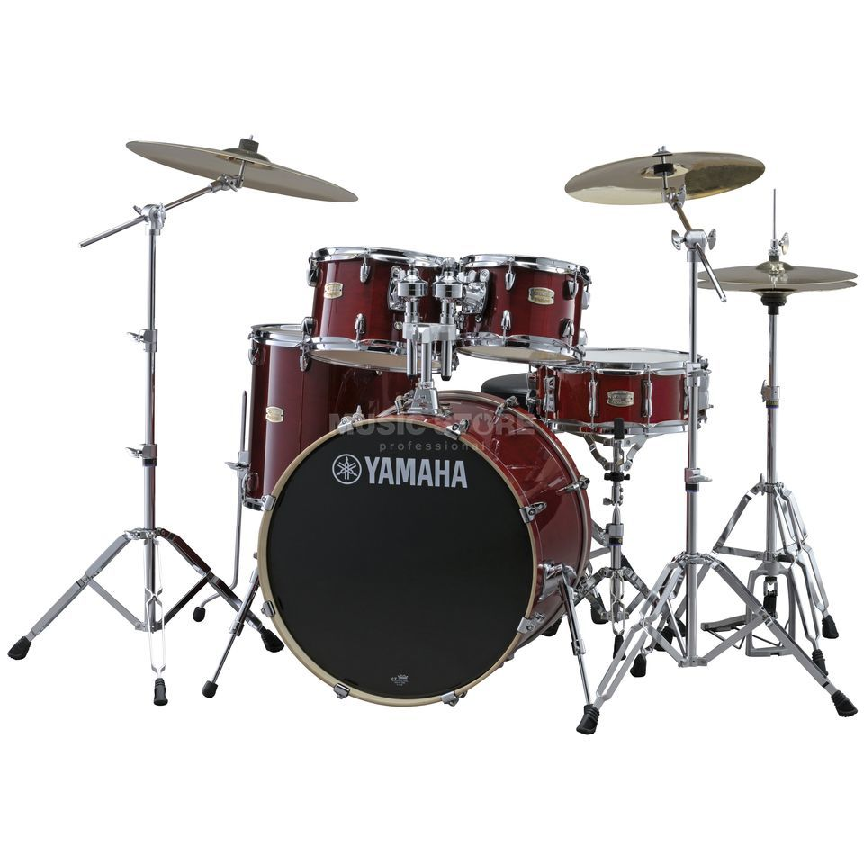 Yamaha Stage Custom Birch SBP0F5, Cranberry Red #CR Produktbillede