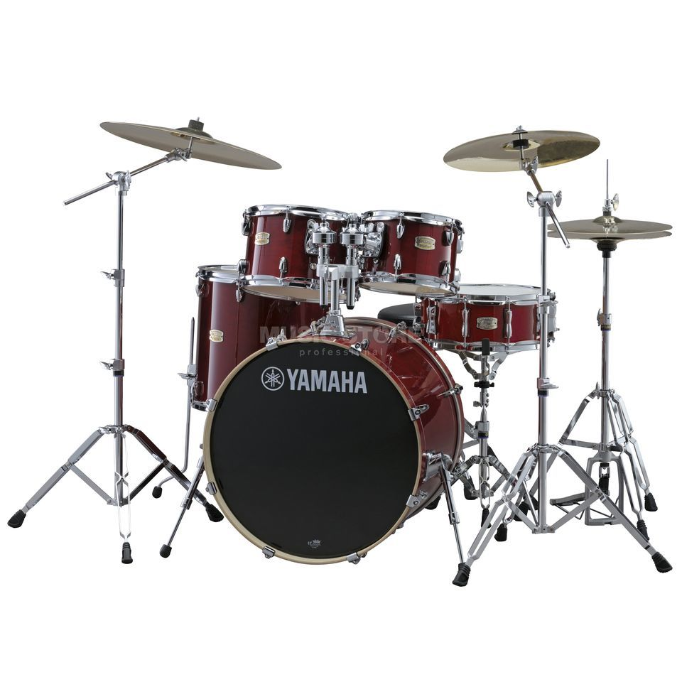 Yamaha Stage Custom Birch SBP2F5, Cranberry Red #CR Produktbillede