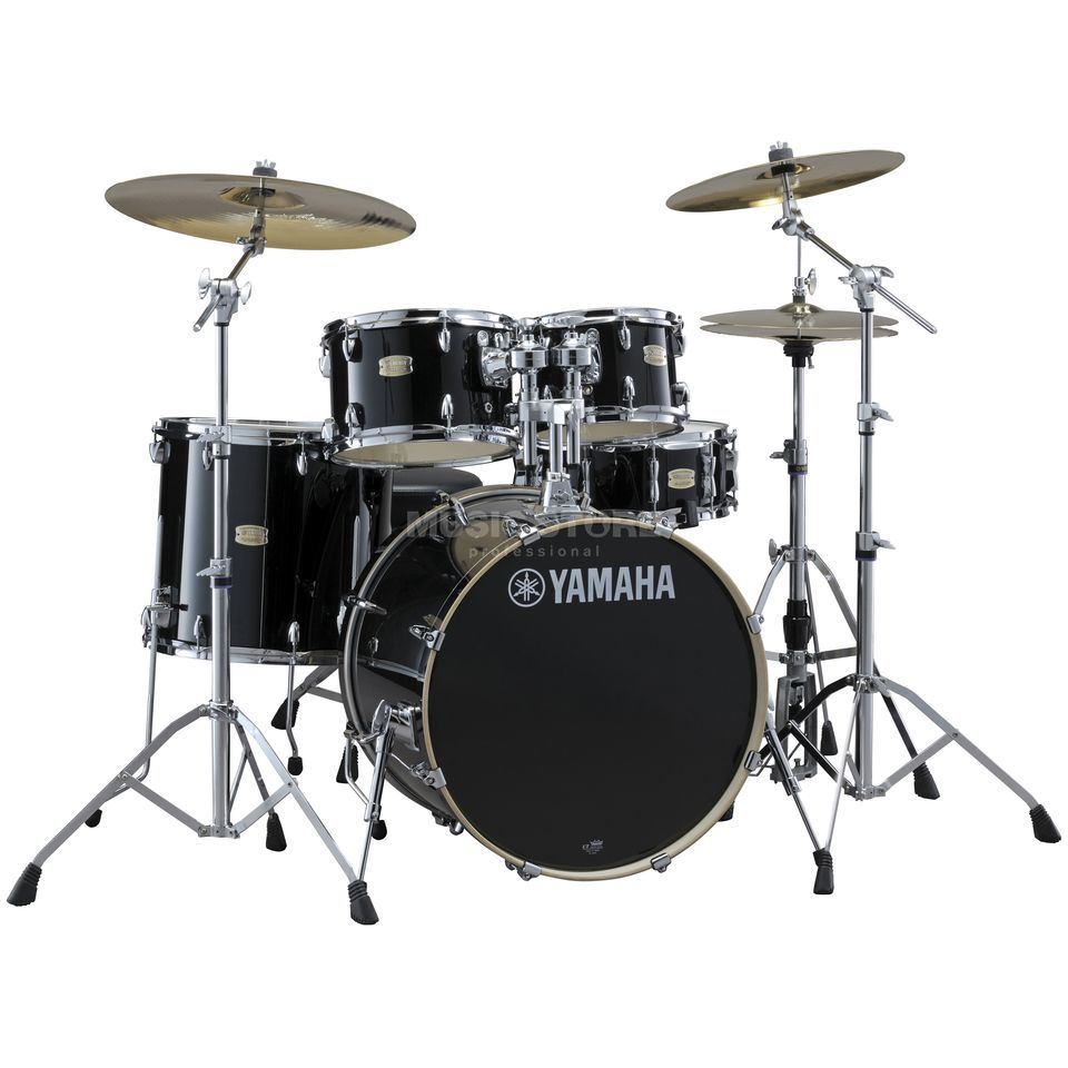 Yamaha Stage Custom Birch SBP2F5, Raven Black #RB Produktbillede