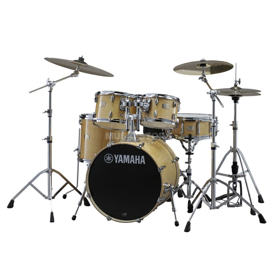 Yamaha Stage Custom Birch ShellSet, Stage, Natural Wood #NW Produktbillede