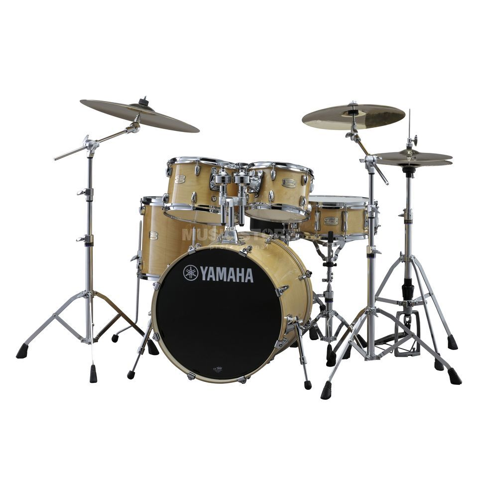Yamaha Stage Custom Birch ShellSet, Studio, Natural Wood #NW Produktbillede
