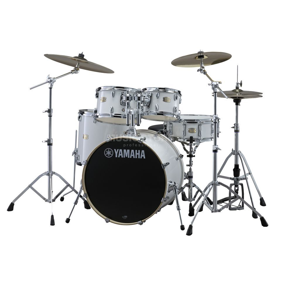 Yamaha Stage Custom Birch ShellSet, Studio, Pure White #PW Produktbild