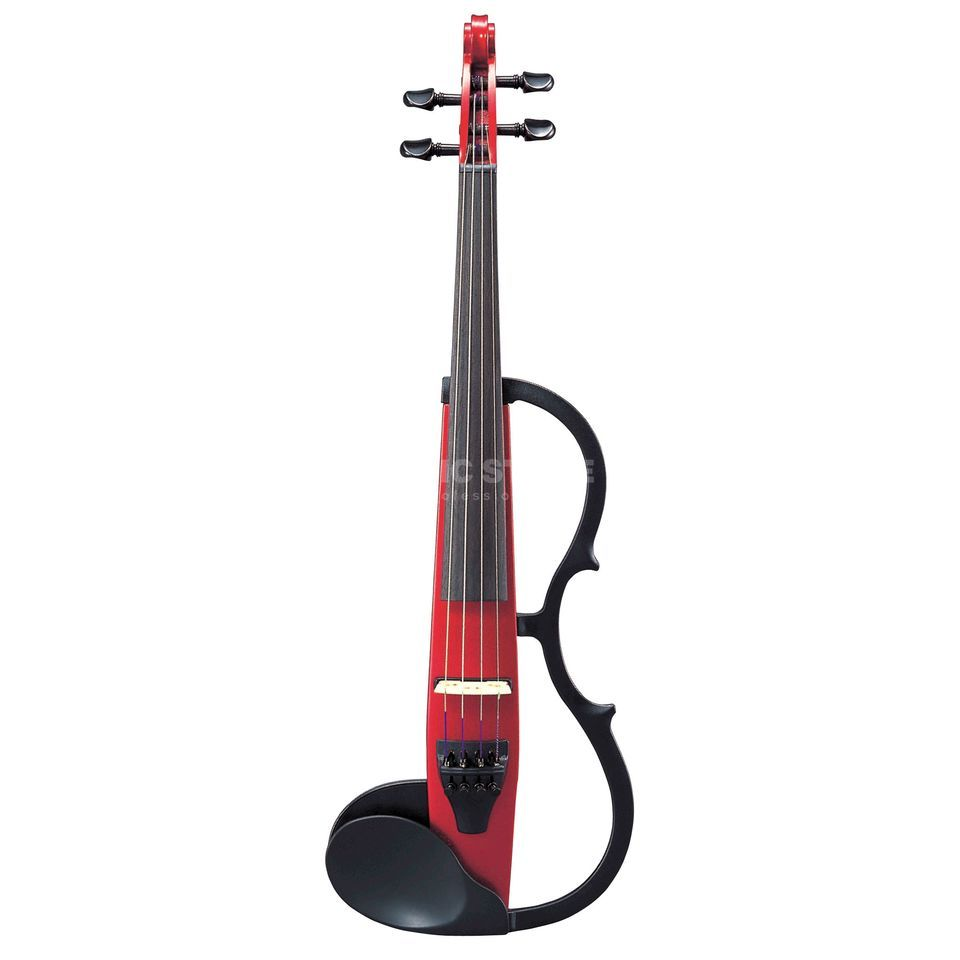 Yamaha SV-130 CAR Silent Violin Candy Apple Red Produktbild