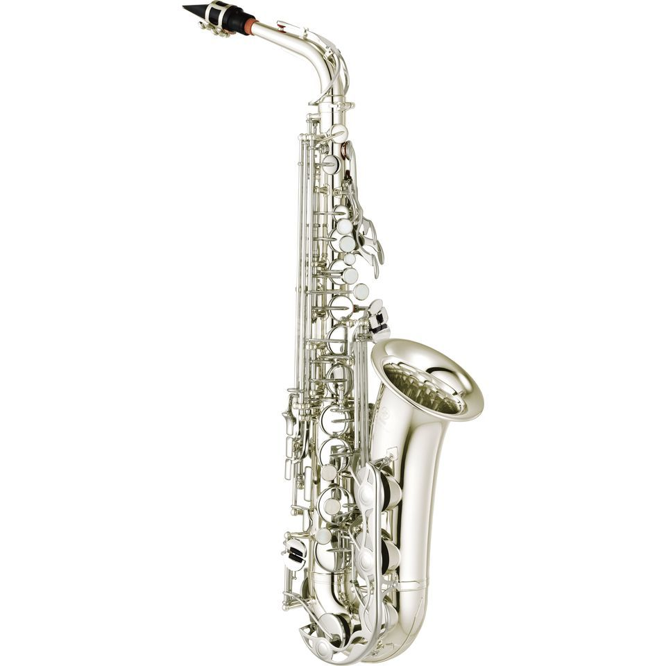 Yamaha YAS-280S Eb-Alto Saxophone Silver Plated Produktbillede